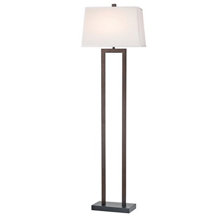 Bronze Two Pole Floor Lamp